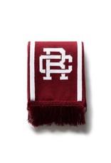 Reigning Champ Knit Crimson Varsity Scarf