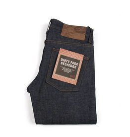 Naked & Famous Men's Skinny Guy Dirty Fade Selvedge