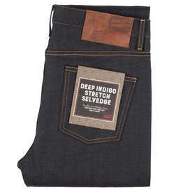 Naked & Famous Stacked Guy Deep Indigo Stretch