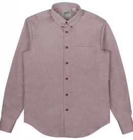 Naked & Famous Regular Shirt Real Wine Dyed Oxford