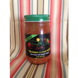 A & J Salsa A & J Salsa WARM with Jalapeno Peppers MIO
