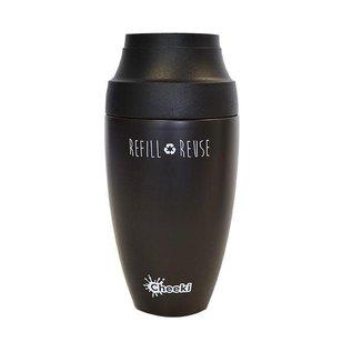 Cheeki USA Cheeki Coffee Insulated Travel Mug Chocolate 12 oz