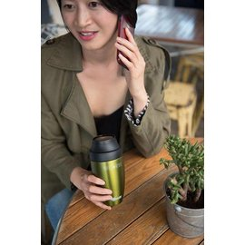Cheeki USA Cheeki Coffee Travel Mug Olive 12 oz