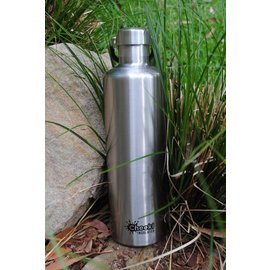 Cheeki USA Cheeki Insulated Bottle Silver 34 oz