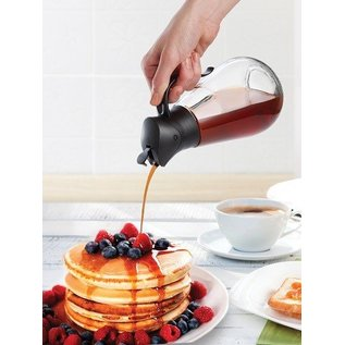 Harold Import Company Inc. HIC Worlds Greatest Store n Pour Syrup Dispenser 18.5 oz