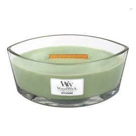 WoodWick Candle Woodwick Candle Ellipse HearthWick Applewood