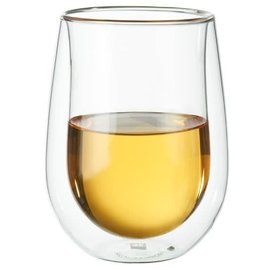 Zwilling J.A. Henckels ZWILLING Sorrento Double Wall Stemless White Wine Glass 10oz 2 pc Set