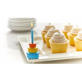 Nora Fleming Nora Fleming Mini Best Birthday Ever! candle holder cake