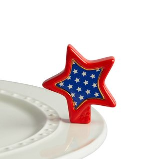 Nora Fleming Nora Fleming Mini Sparkly Star patriotic star