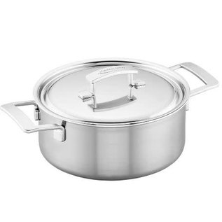 Demeyere Demeyere Industry Stainless Steel Dutch Oven 5.5 Qt with Lid