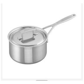 Demeyere Demeyere Industry Stainless Steel Saucepan 2 Qt with Lid