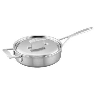 Demeyere Demeyere Industry Stainless Steel Saute Pan 3 Qt with Lid