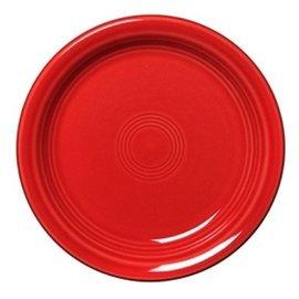 Fiesta Fiesta Appetizer Plate Scarlet