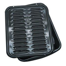 Range Kleen Range Kleen Porcelain Broiler Pan & Grill 13x16 inch