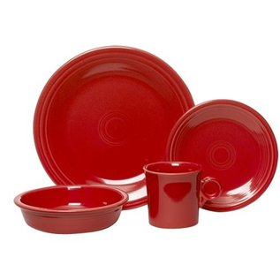 Fiesta Fiesta Traditional 4 Piece Placesetting Scarlet
