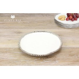 Pampa Bay Pampa Bay Porcelain Round Appetizer Dessert Plate