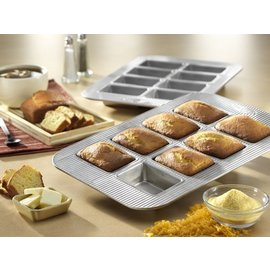 USA Pans USA Pans Mini Loaf Pan 8 Well