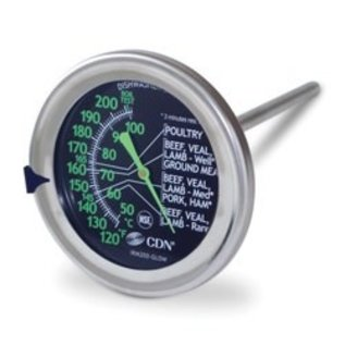CDN CDN  ProAccurate Meat Poultry Ovenproof Thermometer Glow