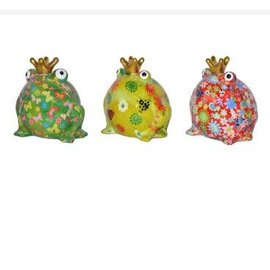Pomme-pidou Pomme-pidou Freddy Frog Money Bank Assorted CLOSEOUT