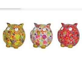 Pomme-pidou Pomme-pidou Zazou Owl Money Bank Assorted CLOSEOUT