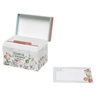 CR Gibson CR Gibson Fruit Fusion Recipe File Box