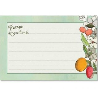 CR Gibson CR Gibson Fruit Fusion Recipe Cards 4x6