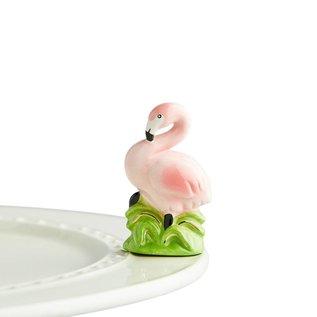Nora Fleming Nora Fleming Mini Tickled Pink flamingo