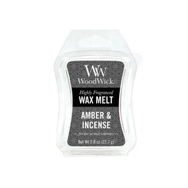 WoodWick Candle WoodWick Candle Mini Wax Melt Amber and Incense