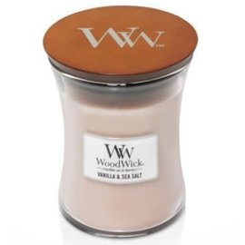 WoodWick Candle WoodWick Candle Medium Vanilla & Sea Salt