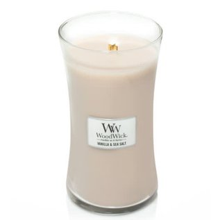Virginia Gift Brands Woodwick Candle Large Vanilla & Sea Salt
