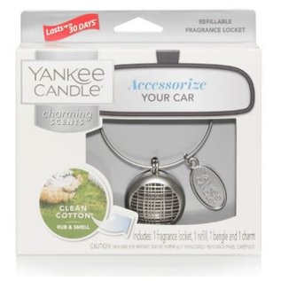 Yankee Candle Co. Yankee Candle Co. Charming Scents Starter Kit Square Locket Clean Cotton