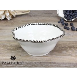 Pampa Bay Pampa Bay Porcelain Medium Bowl