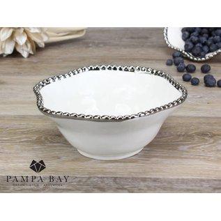 Pampa Bay Pampa Bay Porcelain Medium Bowl