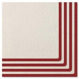 Sophistiplate Sophistiplate Napkins Classic Red DISCONTINUED