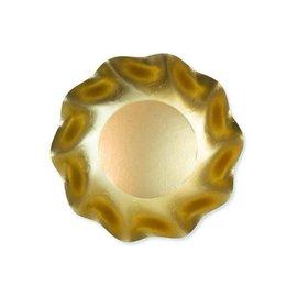 Sophistiplate Sophistiplate Petalo Deep Bowls Satin Gold