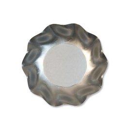 Sophistiplate Sophistiplate Petalo Deep Bowls Satin Silver