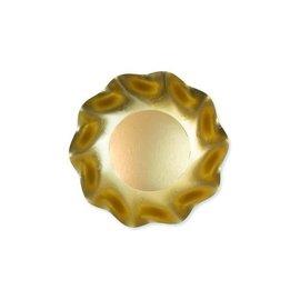 Sophistiplate Sophistiplate Petalo Appetizer Dessert Bowls Satin Gold