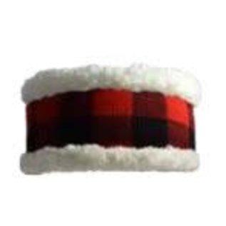 PUDUS PUDUS Classic Headband Lumberjack Red CLOSEOUT