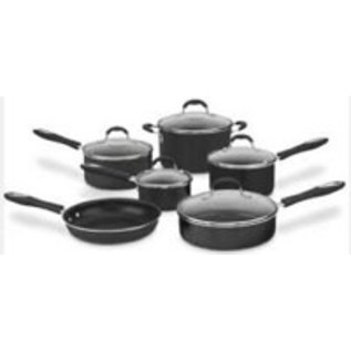 Cuisinart Cuisinart Advantage 11 pc Cookware Set Black