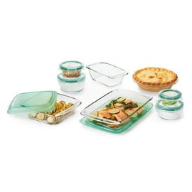 OXO OXO Good Grips Glass Bake Serve and Store 14 Piece Set