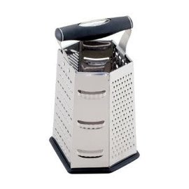 Harold Import Company Inc. HIC Multi Face Grater Stainless Steel