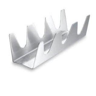 Harold Import Company Inc. HIC Taco Rack Triple stainless steel