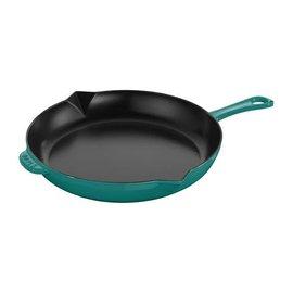 Staub Staub Cast Iron Fry Pan 10 inch Turquoise