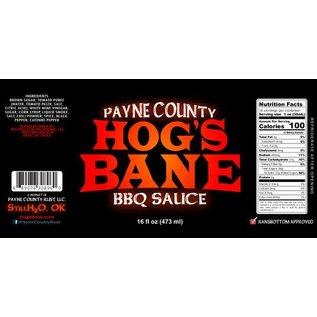 Payne County Rust, LLC Payne County Hog's Bane BBQ Sauce 16 oz MIO