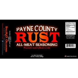 Payne County Rust, LLC Payne County Rust All-Meat Seasoning MIO