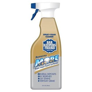 Harold Import Company Inc. HIC Bar Keepers Friend Spray+Foam Cleaner 25.4 oz