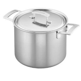 Demeyere Demeyere Industry Stainless Steel Stock Pot 8.5 Qt w Lid