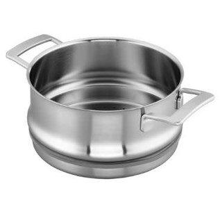 Demeyere Demeyere Industry Stainless Steel Steamer Insert 5.5 Qt (Fits 8.5 Qt Stock Pot & 5.5 Qt Dutch Oven) CLOSEOUT