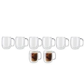 Zwilling J.A. Henckels ZWILLING Sorrento Plus Double Wall Coffee Mug 12oz 8 pc Set Promo