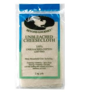 Harold Import Company Inc. HIC Beyond Gourmet Unbleached Cheesecloth